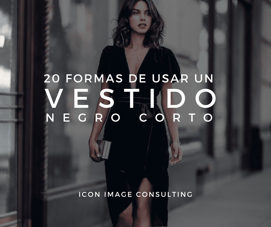 20 Ideas Para Aprender A Usar Un Vestido Negro Corto Icon