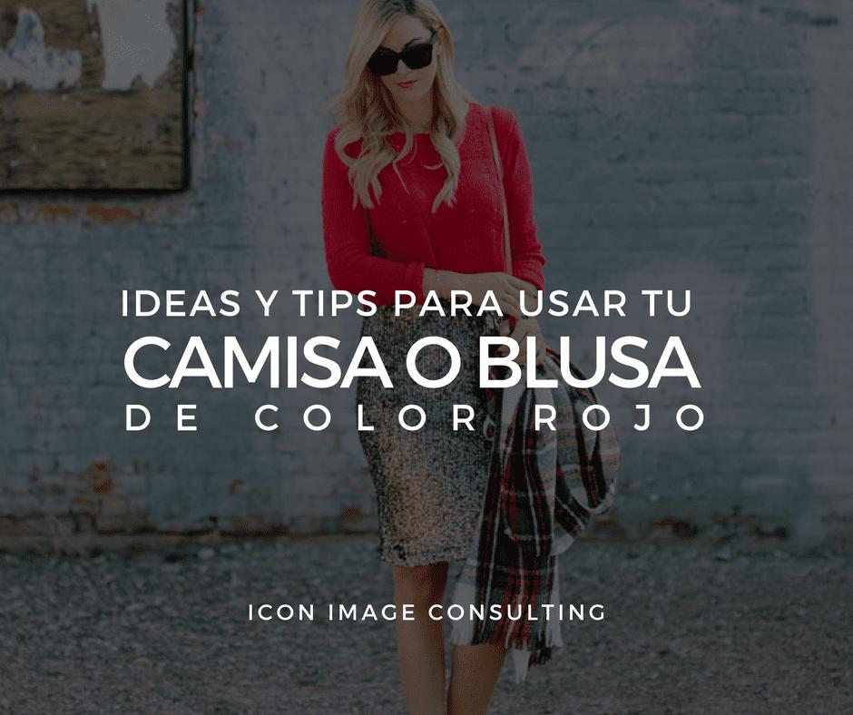 Personal Usar Loos Blusa Belleza Cambio Roja Una Para De Shopping Imagen wqCCxXpRr5