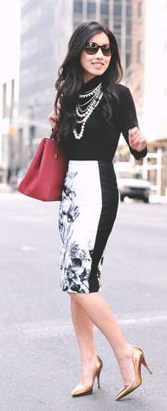 falda lápiz, asesoría de imagen medellin, personal shopper medellin