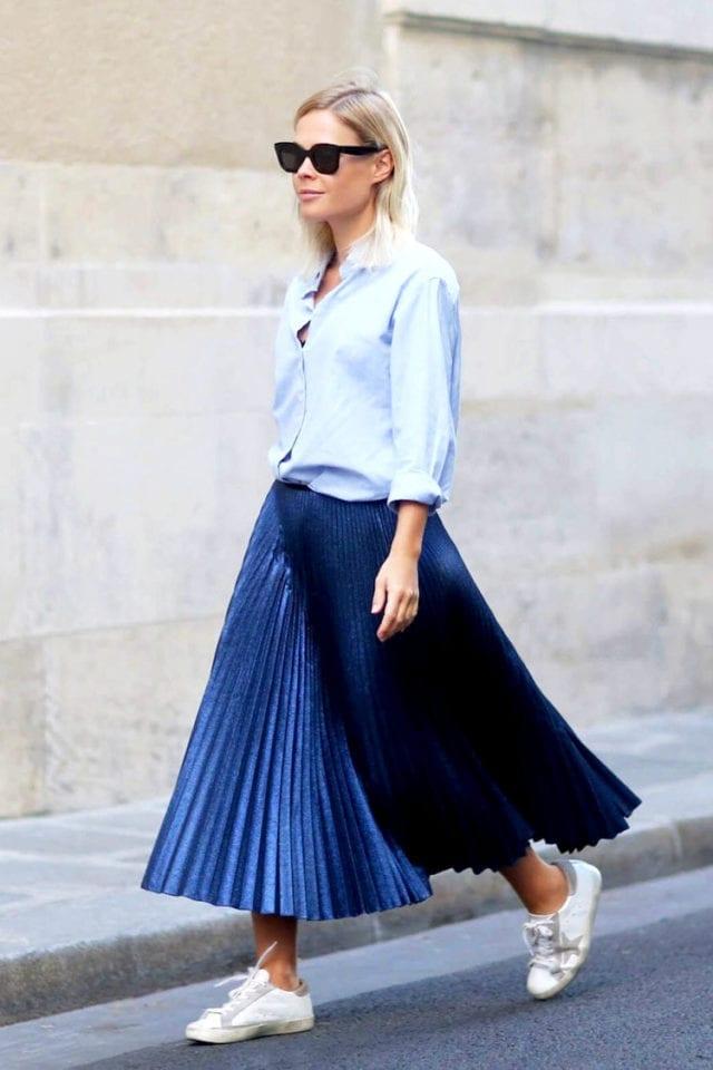 falda plisada, asesoría de imagen medellin, personal shopper medellin